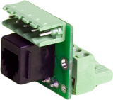 AXA-ADRS SCREW TERMINAL TO RJ12 CONNECTION